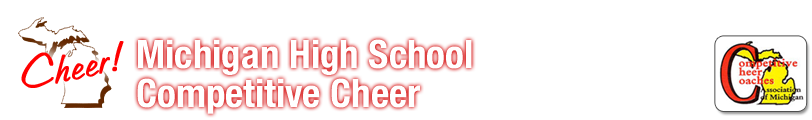 Michigan High School Competitive Cheer